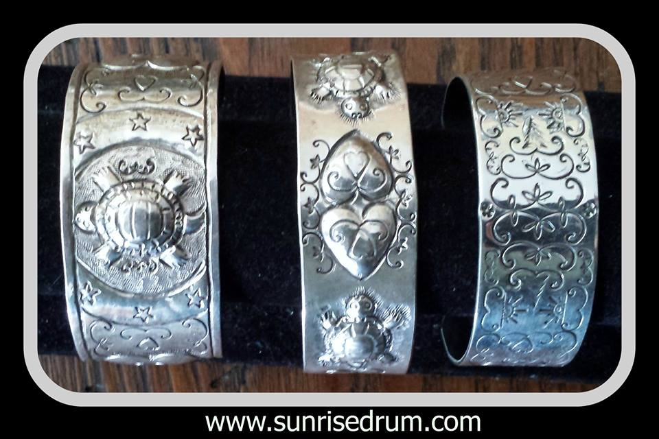 Image of  Sterling Cuffs.