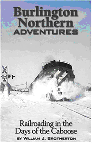 Image of book cover for Burlington Northern Adventures.