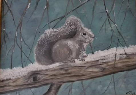 Image of painting called Ready for Winter.