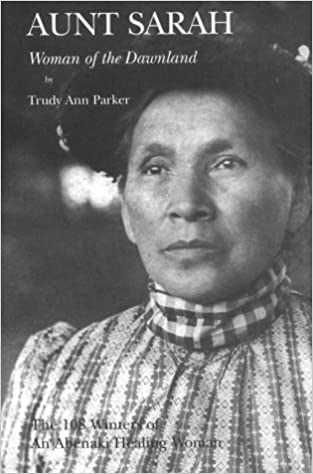Image of book cover Aunt Sarah Woman of the Dawnland
