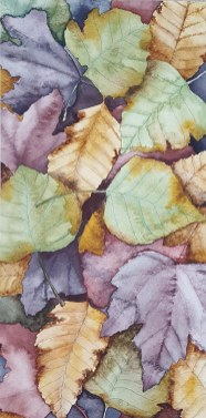 Image of painting of Leaf Pile